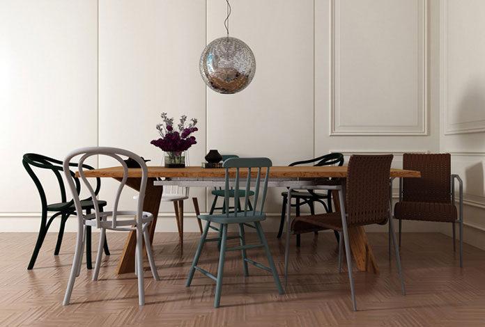 Wybór nowoczesnych krzeseł do salonu